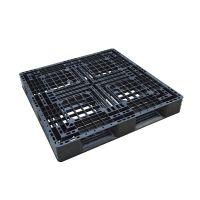 Palet de plástico de segunda mano, plataforma abierta 1100x1100x120 mm