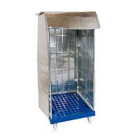 Cubierta isotérmica para roll containers 1475x820x735mm con 2 cierres