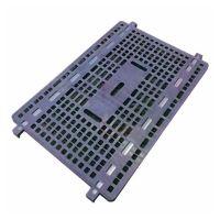 Estante de plástico 1100x800x20mm para el artículo 74515