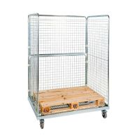 Roll container para europalet 1350x950x1820mm