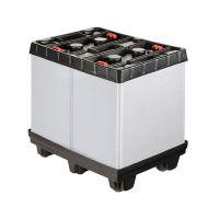 Paletbox de plástico plegable 810x612x765mm