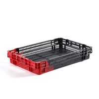 Caja de plástico apilable y encajable 600x400x100mm