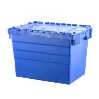 Caja apilable y encajable 600x400x416mm con tapa