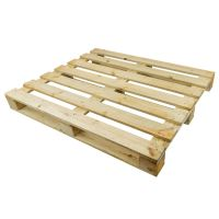 Palet de madera 1200x1000x120mm de un solo uso