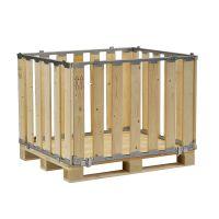 Caja de madera MP desmontable 1200x1000x800mm