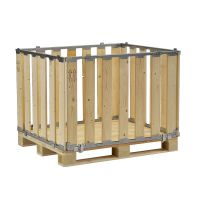 Caja de madera MP desmontable 1200x800x700mm