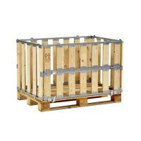 Caja de madera MP con ventana plegable 1200x800x700mm