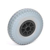 Carretilla con rueda antipinchazos para carretillas 260x85mm diámetro 25mm
