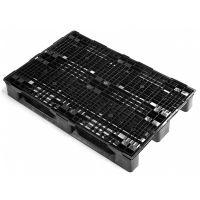 Palet de plástico 1200x800x155mm plataforma abierta