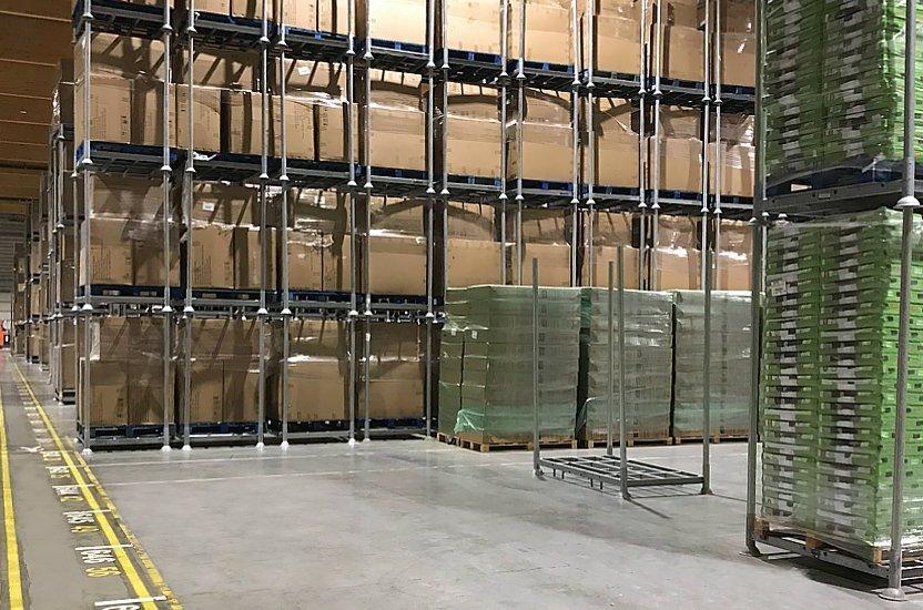 Gestiona tu espacio de almacenamiento con un sistema de racks móviles