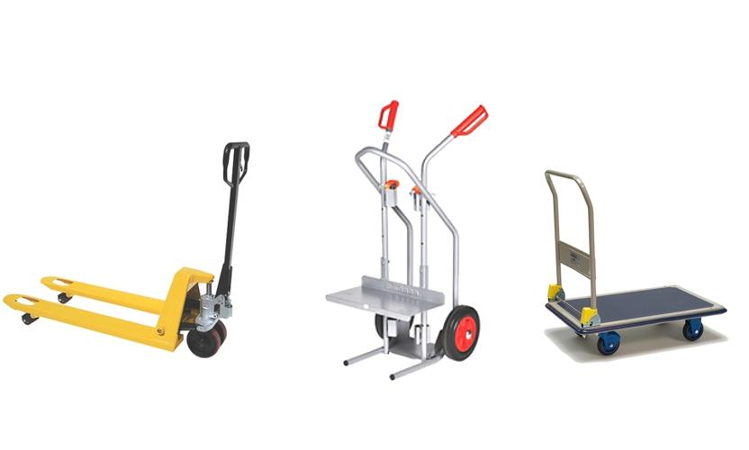 Tipos de carros de almacén para el transporte interno de su empresa