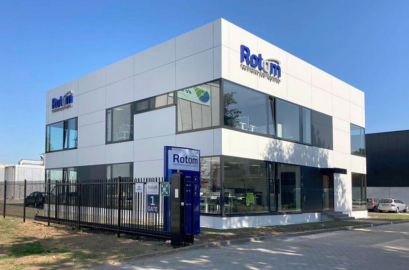 Nueva oficina de Rotom Holanda en Maasbracht