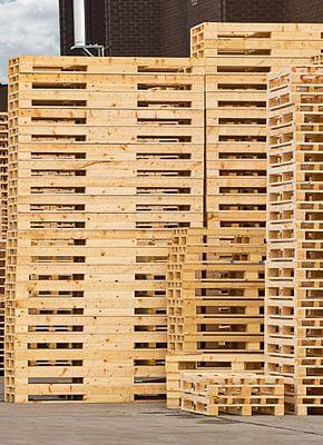 Palets de madera personalizados