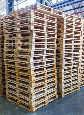 Palets de madera de un solo uso: ¿pueden utilizarse más de una vez?
