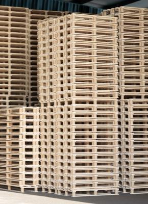Las medidas del palet de madera