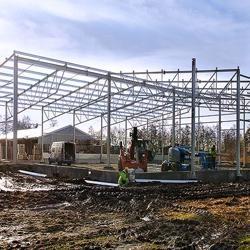Nueva inversión en Rotom Poland Sp. Zoo.- Moderno edificio para almacenaje de palet seco