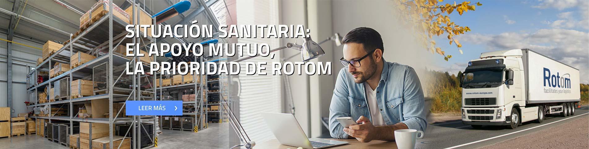 Situación sanitaria: el apoyo mutuo, la prioridad de Rotom